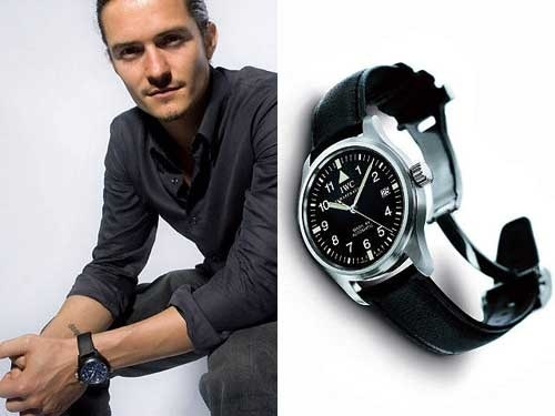 Replica IWC With Orlando Bloom