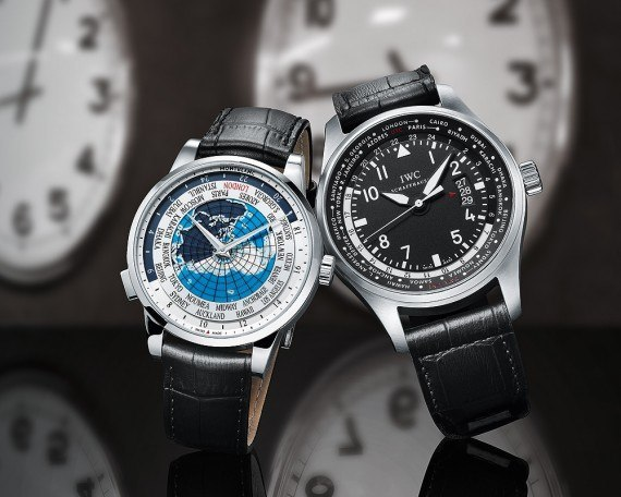 IWC and Montblanc World-Time Watches