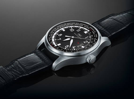 IWC Pilot's Watch Worldtimer - flat