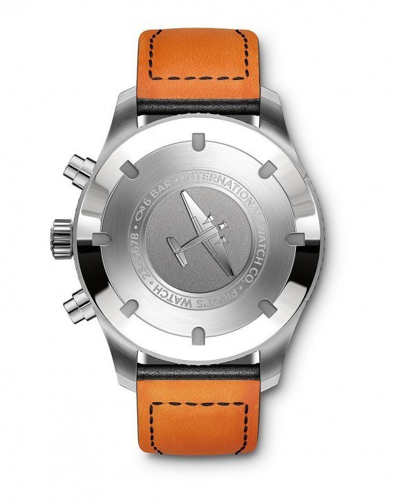 IWC Pilot's Watch Timezoner Chronograph - Back