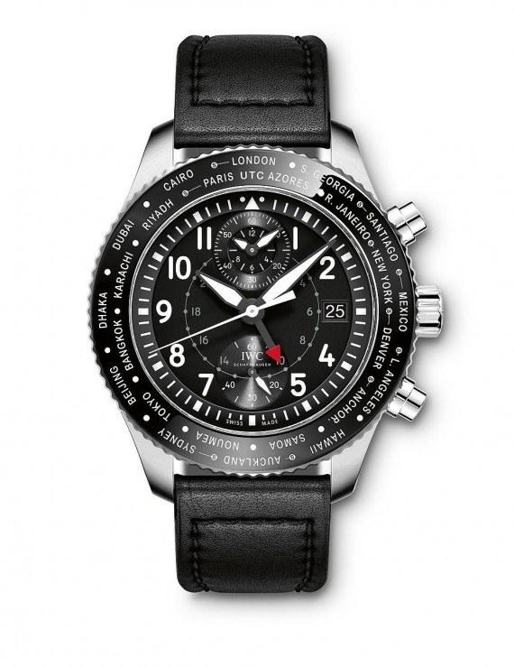 IWC Pilot's Watch Timezoner Chronograph - Front
