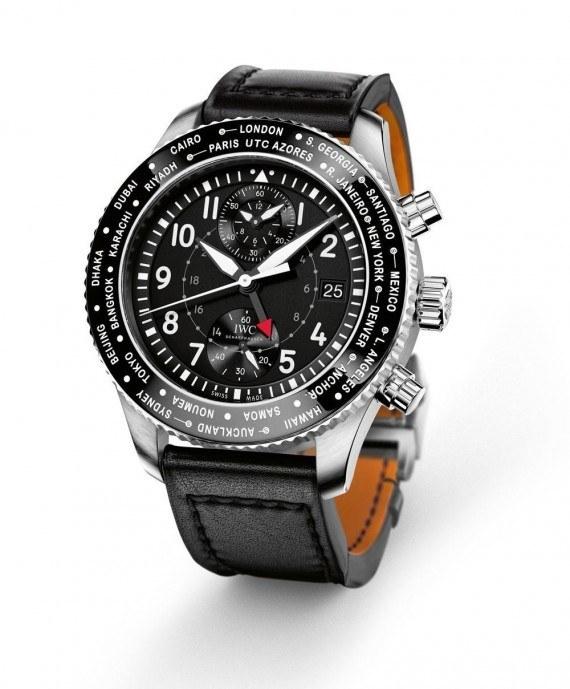 IWC Pilot's Watch Timezoner Chronograph - angle
