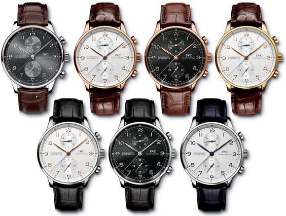 IWC Portuguese Chrono Automatic fake watches