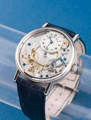 Classic White Gold/Tradition Breguet replica
