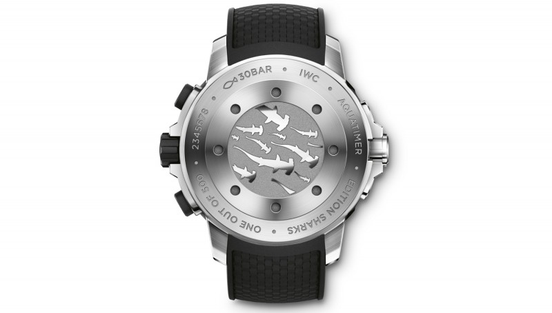 "imitation iwc aquatimer chronograph edition ""sharks"""