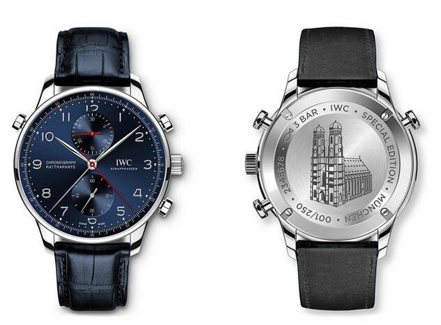 iwc portugieser chronograph rattrapantes replica