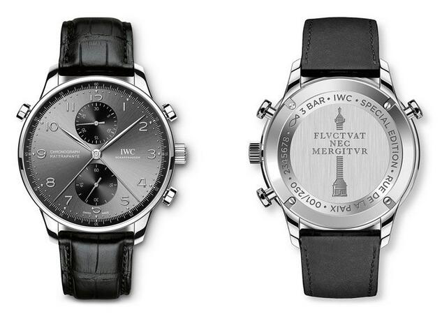 Iwc Presents Two New Replica Portugieser Chronograph Rattrapantes Watches