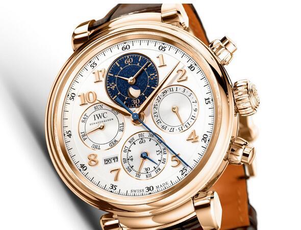 new fashion imitation IWC Da Vinci Perpetual Calendar Chronograph