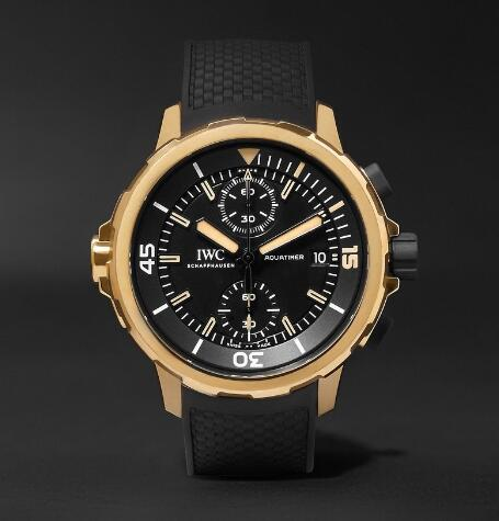 replica iwc aquatimer chronograph edition expedition