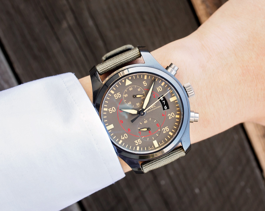 "With a 68-power reserve, this watch will stay ""alive"" for a long time."